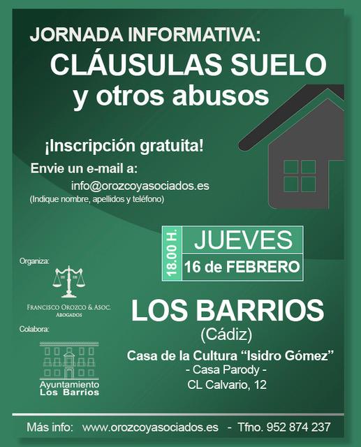 Ayuntamiento De Los Barrios Jornada Informativa