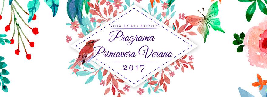 Programa Primavera Verano 2017
