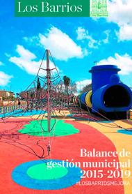 Balance de gestión municipal